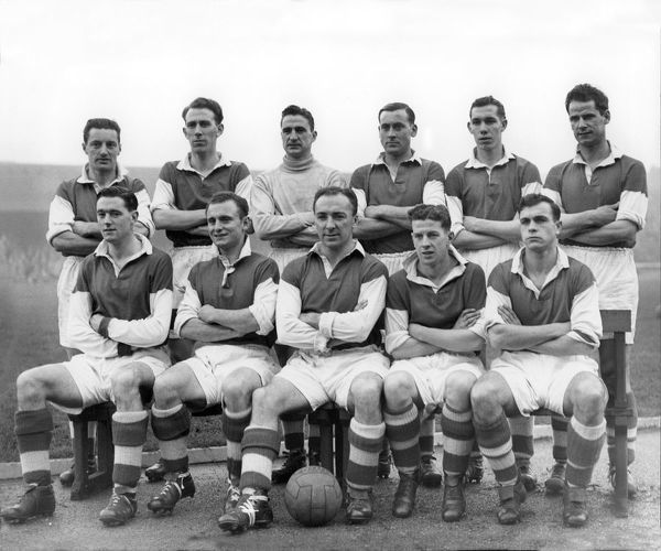 Stirling Albion F.C. Team group 1954