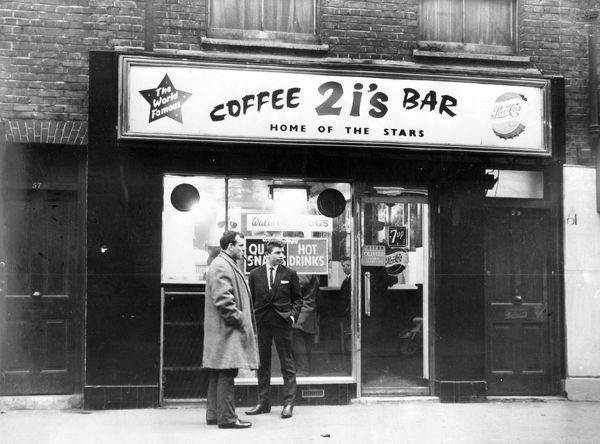 2i's Coffee Bar in Old Compton Street, Soho, 1963
