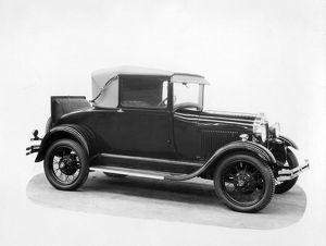 vintage cars b/1928 ford sport coupe motor car