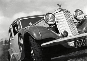 vintage cars b/1935 cylinder humber snipe sports saloon