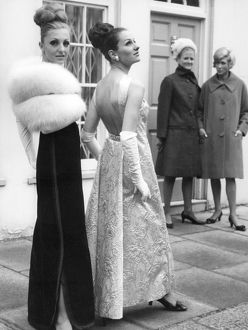 fifties sixties fashion/evening wear styles 1966