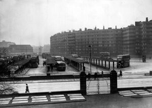 town country/leeds bus station 1949
