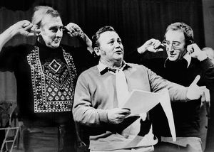 famous faces/spike milligan harry secombe peter sellers