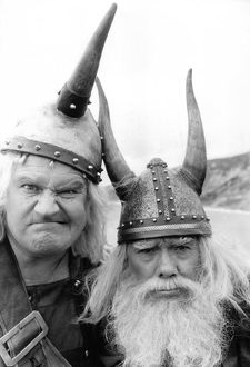 famous faces/the ronnies dressed vikings